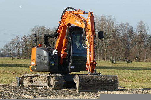 Excavators, Machine, The Construction, Machines