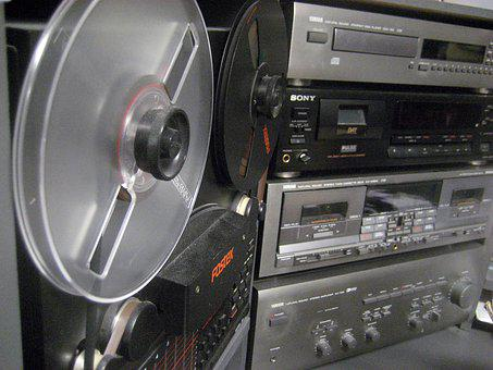 Taperecorder, Vintage, Music, Sound, Audio, Classic