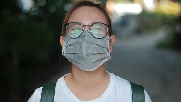 Covid, Girl, Covid-19, Portrait, Mask, Virus