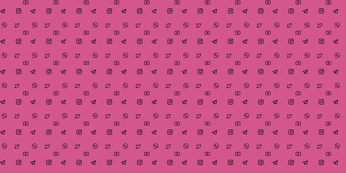 Social Media, Icons, Twitter, Telegram, Whatsapp