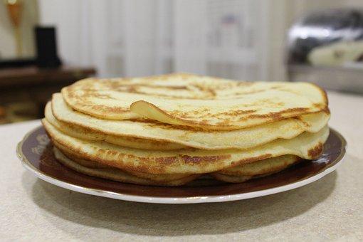 Pancake, Bakery, Dish, Meal, Sweet, Dessert, Food, Cake