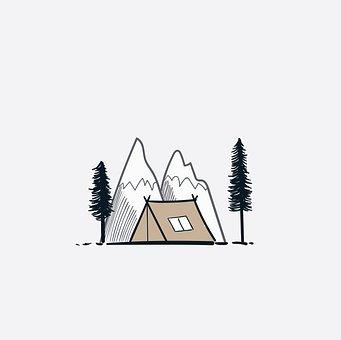 Tent, Camp, Mountain, Camping, Nature