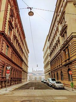 Perspective, Budapest, Architecture, City, Cityscape
