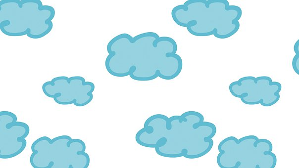 Clouds, Sky, Celestial, Dreamy, Hovering, Blue, Azure