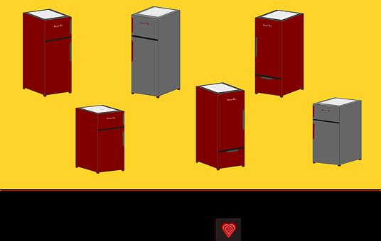 Fridge, Kitchen, Refrigerator, Appliance, Cold, Freezer