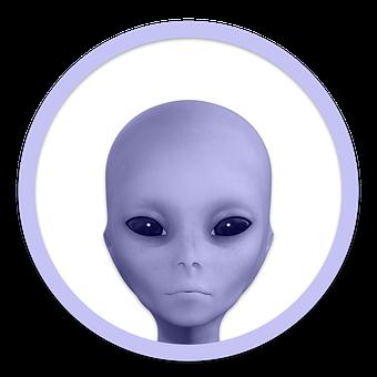 Icon, Alien, Head, Extraterrestrial, Alien Head