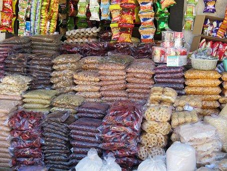 Food, Bazar, Market, Shopping, Bhutan