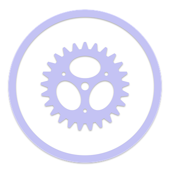 Icon, Gear, Settings, Support, Service, Configuration