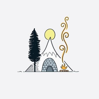Tent, Camp, Mountain, Campfire, Camping, Nature, Travel