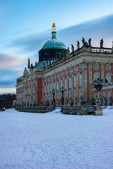 New Palace, Sanssouci, Potsdam, Building, Palace