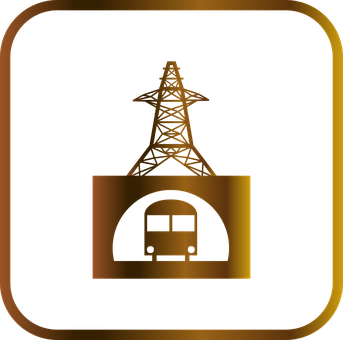Engineering, Electricity, Power Tower, Tunnel, Tram