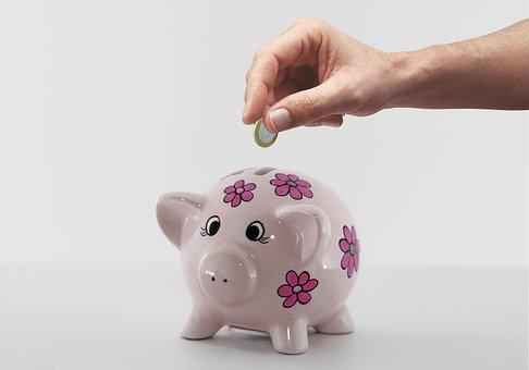Piggy, Bank, Saving, Pig, Money, Finance, Budget, Save