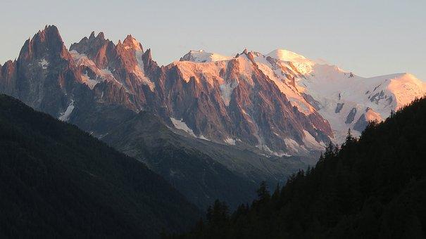 Mountains, Mountain Range, Snow, Peak