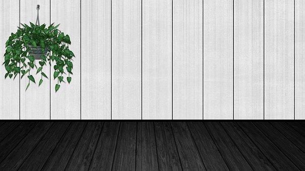 Empty Room, Virtual Classroom, Wood Floor, Space
