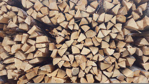 Wood, Stack, Firewood, Forestry, Holzstapel