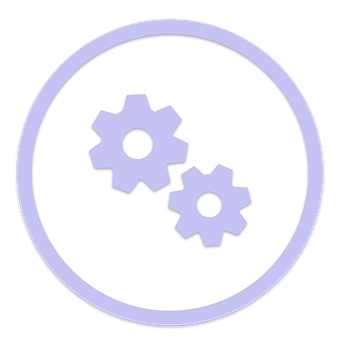 Icon, Gears, Maintenance, Settings, Support, Service