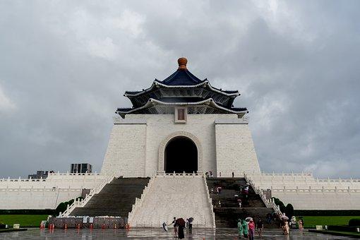 Taiwan, Cks Memorial, Monument, Taipei, Architecture
