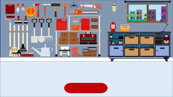 Garage, Tool House, Tool