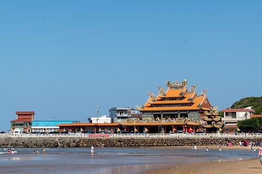 Traditional, Temple, Buddha, Buddhism, China, Japan