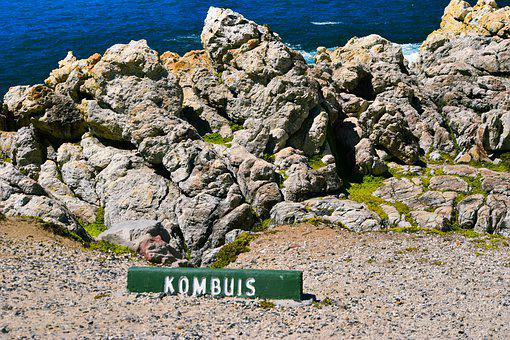 Hermanus, Western Cape, Rocks, South Africa, Road Sign