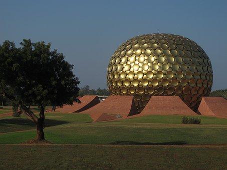 Auroville, India, Pondichery, Aurobindo Ashram