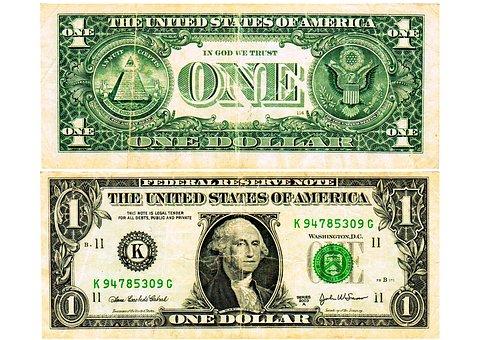 Us Dollar, Dollar, Money, Banknote, A Dollar, Currency