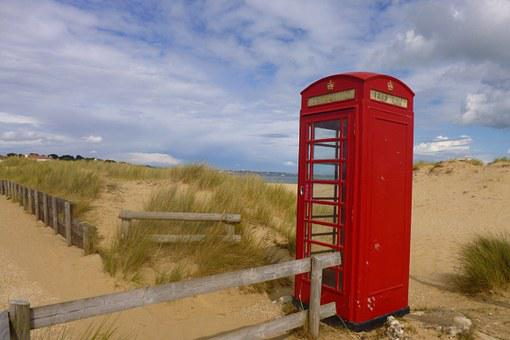 Phone Booth, Beach Phone, South Gland