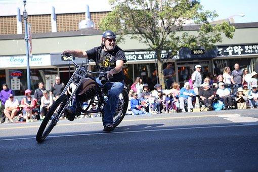 Canada, Parade, Victoria Day, Canada's Pride, Biker