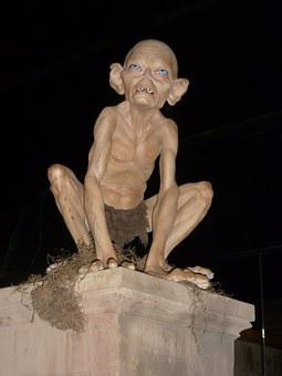 Gollum, Wax Figure, Branson, Wax Museum