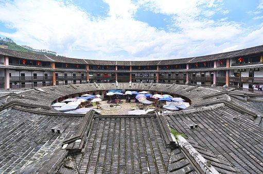 China, Fujian Province, Soil Building, Building