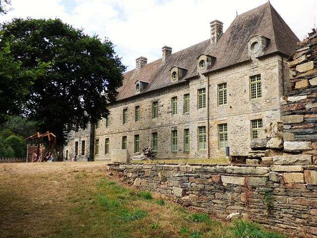 Abbey Of Good-rest, Côtes D'armor, Brittany, France