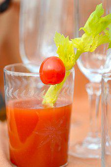 Drink, Bloody Mary, Alcohol, Bloody, Juice, Tomato