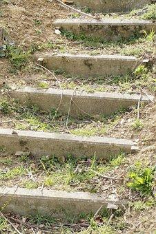 Stairs, Gradually, Away, Emergence, Rise, High