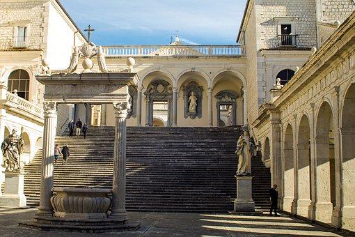 Abbey Montecassino, Montecassino, Cassino, Lazio, Italy