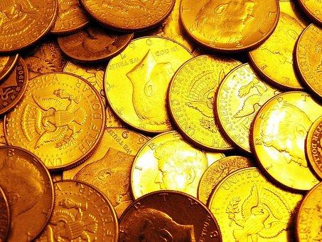 Kennedy, Half Dollar, Half Dollars, Change