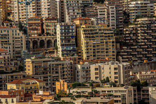 Monaco, Homes, City, City State, Building, Skyscrapers