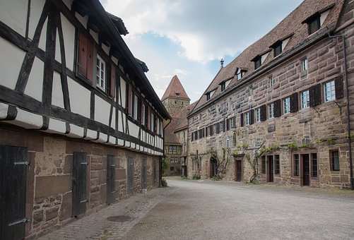 Truss, Middle Ages, Medieval, Monastery, Maulbronn