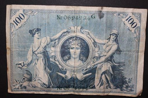 Banknote, Dollar Bill, Currency, Paper Money, Money