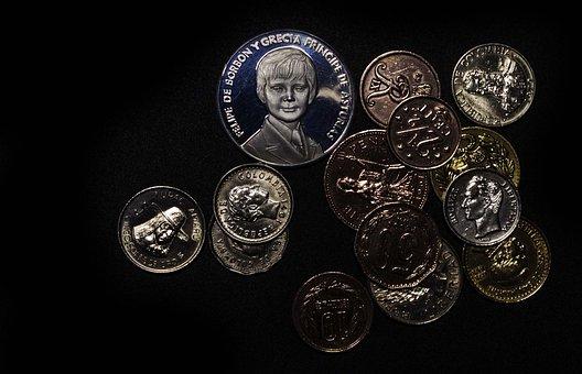 Coins, Money, Collection, Silver, Metal, Saving