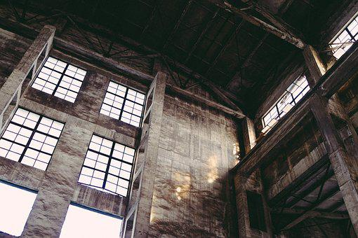 Industrial, Old Factory, Decadence