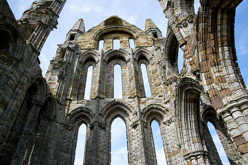 Whitby Abbey, Ruins, History, England, Church, Old