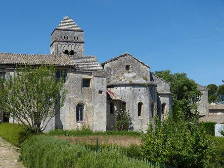France, St Remy, Provence, Rhône, Building
