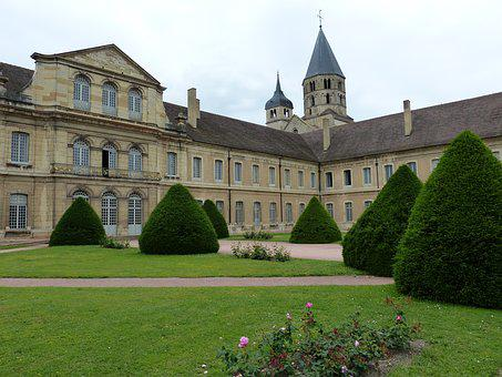Cluny, Monastery, Abbey, Church, Romanesque Church