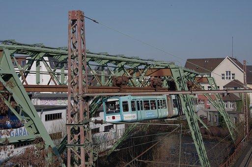 Schwebebahn, Wuppertal, Barmen