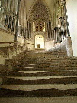 Staircase, Gradually, Stairs, Beaten, History, Up
