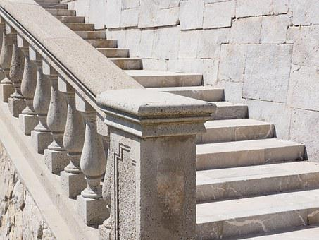 Stairs, Emergence, Stone Stairway, Gradually, Staircase