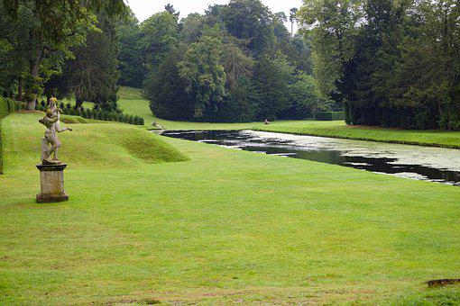Fountains Abbey, Water Gardens, National Treust
