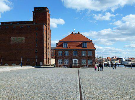 Building, Wismar, Architecture, Old Town