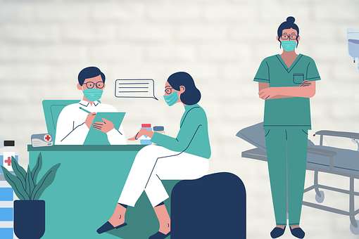 Doctor, Hospital, Clinic, Face Masks, Surgical Masks