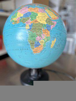 Globe, Africa, World, Country, Continent